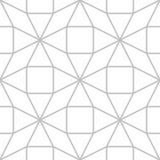 Άνευ ραφής γεωμετρικό κεραμίδι σχεδίων Editable Στοκ Εικόνα