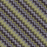 Άνευ ραφής γεωμετρικό πρότυπο με τα τρεκλίσματα επίσης corel σύρετε το διάνυσμα απεικόνισης Στοκ Φωτογραφία