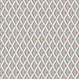 Άνευ ραφής γεωμετρικό ροζ σχεδίων γαλαζοπράσινο Στοκ Φωτογραφίες