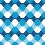 Άνευ ραφής γεωμετρικό σχέδιο συστροφής κυμάτων απεικόνιση αποθεμάτων