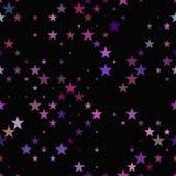 Άνευ ραφής γεωμετρικό σχέδιο pentagram - διανυσματικό υπόβαθρο Στοκ εικόνα με δικαίωμα ελεύθερης χρήσης