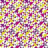 Άνευ ραφής γεωμετρικό σχέδιο με το τρίγωνο. ελεύθερη απεικόνιση δικαιώματος