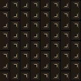 Άνευ ραφής γεωμετρικό σχέδιο των τριγώνων Στοκ Φωτογραφία