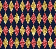 Άνευ ραφής γεωμετρικό σχέδιο των rhombuses Στοκ φωτογραφία με δικαίωμα ελεύθερης χρήσης