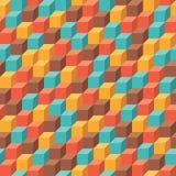 Άνευ ραφής γεωμετρικό σχέδιο Στοκ Φωτογραφία