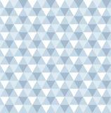 Άνευ ραφής γεωμετρικό υπόβαθρο σχεδίων τριγώνων Στοκ Φωτογραφία