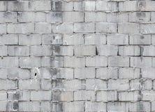 Άνευ ραφής γκρίζος συγκεκριμένος τουβλότοιχος στοκ φωτογραφίες με δικαίωμα ελεύθερης χρήσης