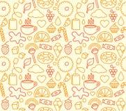 άνευ ραφής γλυκό τροφίμων ελεύθερη απεικόνιση δικαιώματος