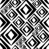Άνευ ραφής γραπτό διανυσματικό σχέδιο rhomb διανυσματική απεικόνιση