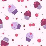 Άνευ ραφής γλυκά σχεδίων Στοκ εικόνα με δικαίωμα ελεύθερης χρήσης
