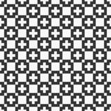 άνευ ραφής διάνυσμα προτύπων Απλή σύσταση των τετραγώνων Μοντέρνη υφαντική τυπωμένη ύλη ελεύθερη απεικόνιση δικαιώματος