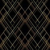άνευ ραφής διάνυσμα προτύπων Διαγώνιο υπόβαθρο γραμμών πολυτέλειας Στοκ εικόνες με δικαίωμα ελεύθερης χρήσης