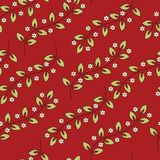 άνευ ραφής διάνυσμα προτύπων Floral μοντέρνο υπόβαθρο διανυσματική απεικόνιση