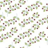άνευ ραφής διάνυσμα προτύπων Floral μοντέρνο υπόβαθρο ελεύθερη απεικόνιση δικαιώματος