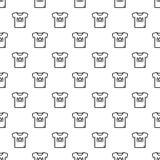 Άνευ ραφής διάνυσμα σχεδίων μπλουζών αστεριών ελεύθερη απεικόνιση δικαιώματος