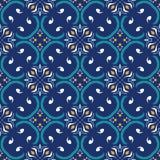 άνευ ραφής διάνυσμα σύστα&sigma Όμορφο χρωματισμένο σχέδιο για το σχέδιο και μόδα με τα διακοσμητικά στοιχεία πορτογαλικά Στοκ Φωτογραφία