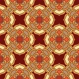άνευ ραφής διάνυσμα σύστα&sigma Όμορφο χρωματισμένο σχέδιο για το σχέδιο και μόδα με τα διακοσμητικά στοιχεία πορτογαλικά Στοκ Φωτογραφίες