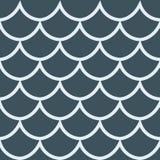 Άνευ ραφής διανυσματική απεικόνιση υποβάθρου σχεδίων σκούρο μπλε Στοκ Εικόνες