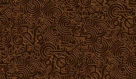 Άνευ ραφής διανυσματική μηχανική σύσταση σχεδίων απομονωμένος Steampunk μεταλλικός Χαλκός, χαλκός ελεύθερη απεικόνιση δικαιώματος