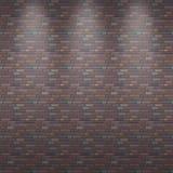 άνευ ραφής διανυσματικός τοίχος τούβλου ανασκόπησης Στοκ Φωτογραφίες