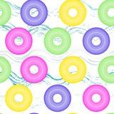 Άνευ ραφής διογκώσιμος κύκλος σχεδίων ελεύθερη απεικόνιση δικαιώματος