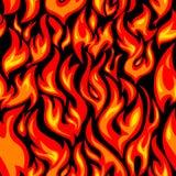 άνευ ραφής δομή πυρκαγιάς Στοκ Εικόνα