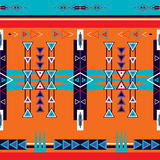 Άνευ ραφής εθνική φυλετική διακόσμηση σχεδίων Στοκ Εικόνες