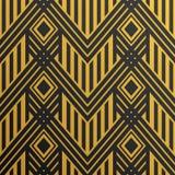 Άνευ ραφής εκλεκτής ποιότητας σχέδιο ταπετσαριών του Art Deco Γεωμετρικό διανυσματικό de Στοκ Εικόνες