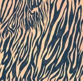 Άνευ ραφής εκλεκτής ποιότητας σχέδιο ύφους με τη ζέβρ τυπωμένη ύλη Στοκ Εικόνες