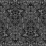 Άνευ ραφής εκλεκτής ποιότητας floral ταπετσαρία απεικόνιση αποθεμάτων