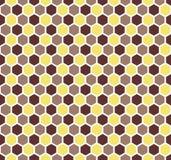 Άνευ ραφής εξαγωνικό υπόβαθρο σύστασης κυψελωτών σχεδίων Στοκ φωτογραφίες με δικαίωμα ελεύθερης χρήσης