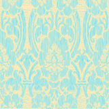 Άνευ ραφής ελαφρύ αφηρημένο ριγωτό floral εκλεκτής ποιότητας υπόβαθρο σχεδίων Στοκ Εικόνες