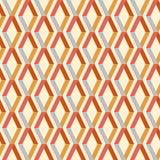 Άνευ ραφής ζωηρόχρωμο γεωμετρικό σχέδιο με τα λωρίδες Στοκ Εικόνες