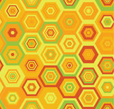 Άνευ ραφής ζωηρόχρωμο διανυσματικό γεωμετρικό σχέδιο Στοκ Φωτογραφία