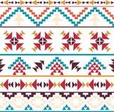 Άνευ ραφής ζωηρόχρωμο των Αζτέκων σχέδιο Στοκ φωτογραφίες με δικαίωμα ελεύθερης χρήσης