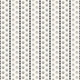 Άνευ ραφής ζωικό σχέδιο του ίχνους και του κόκκαλου ποδιών Στοκ Εικόνες