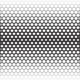 άνευ ραφής διάνυσμα ανασκό Αφηρημένο γραπτό σχέδιο πολυγώνων Στοκ Φωτογραφίες