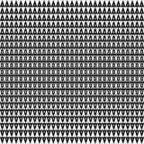 άνευ ραφής διάνυσμα ανασκό Αφηρημένο σχέδιο τριγώνων πολυγώνων γραπτό γραφικό Στοκ Εικόνες