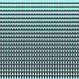 άνευ ραφής διάνυσμα ανασκό Αφηρημένο σχέδιο τριγώνων πολυγώνων μαύρο και κυανό γραφικό Στοκ εικόνα με δικαίωμα ελεύθερης χρήσης