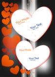 άνευ ραφής διάνυσμα βαλεντίνων μορφής προτύπων s καρδιών δώρων πλαισίων σχεδίου ημέρας καρτών Στοκ φωτογραφία με δικαίωμα ελεύθερης χρήσης
