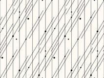 άνευ ραφής διάνυσμα προτύπων αφηρημένη ανασκόπηση ριγωτή Μονοχρωματική σύσταση Minimalistic Στοκ εικόνες με δικαίωμα ελεύθερης χρήσης