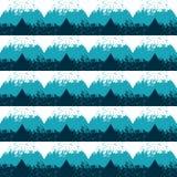 άνευ ραφής διάνυσμα προτύπων Γεωμετρικές μορφές τριγώνων στο ύφος Grunge Στοκ εικόνα με δικαίωμα ελεύθερης χρήσης