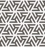 άνευ ραφής διάνυσμα προτύπων γεωμετρική σύσταση Στοκ Φωτογραφίες
