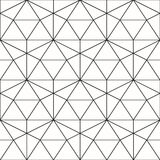 άνευ ραφής διάνυσμα προτύπων Γεωμετρικό υπόβαθρο με το ρόμβο και το ν διανυσματική απεικόνιση
