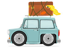 άνευ ραφής διάνυσμα προτύπων κινούμενων σχεδίων αυτοκινήτων Στοκ Εικόνες