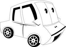 άνευ ραφής διάνυσμα προτύπων κινούμενων σχεδίων αυτοκινήτων Στοκ φωτογραφίες με δικαίωμα ελεύθερης χρήσης