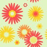 άνευ ραφής διάνυσμα προτύπων λουλουδιών απεικόνιση αποθεμάτων