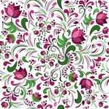 άνευ ραφής διάνυσμα προτύπων σχεδίου floral Στοκ Φωτογραφίες