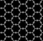 άνευ ραφής διάνυσμα προτύπων Σύσταση διακοσμήσεων αλυσίδων Στοκ φωτογραφία με δικαίωμα ελεύθερης χρήσης