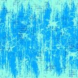 άνευ ραφής διάνυσμα σύστασ Μπλε ελεγμένο υπόβαθρο Grunge με την τριβή διανυσματική απεικόνιση